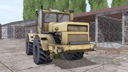 Kirovets K-700A interactive control v2.0 for Farming Simulator 2017