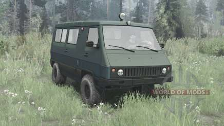 UAZ 3972 Wagon 1990 for MudRunner