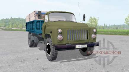 GAZ 53 truck v1.3 for Farming Simulator 2017