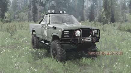 Ford F-150 Ranger 1982 lifted for MudRunner