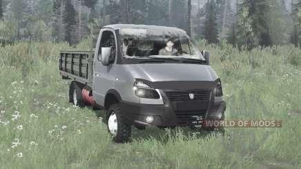 GAZA 33027 Business ГАЗель 4x4 2003 for MudRunner
