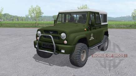 UAZ 3159 bars v1.1 for Farming Simulator 2017