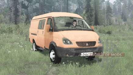 GAZ 2705 GAZelle 2003 for MudRunner