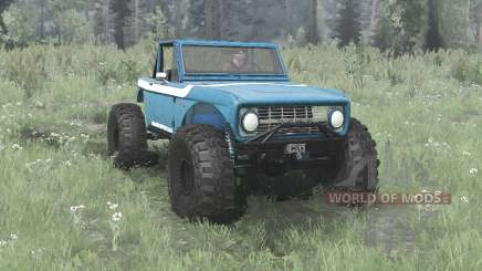 Ford Bronco crawler for MudRunner