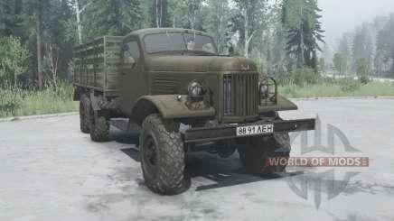 ZIL 157К 1962 for MudRunner