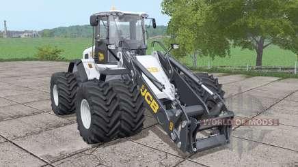 JCB 435S double wheels v1.0.0.1 for Farming Simulator 2017