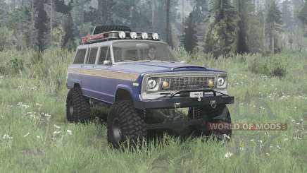 Jeep Wagoneer 1978 for MudRunner