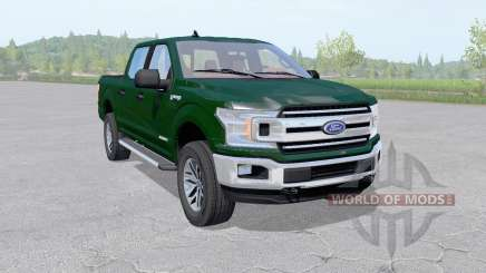 Ford F-150 XLT SuperCrew 2017 v2.2 for Farming Simulator 2017