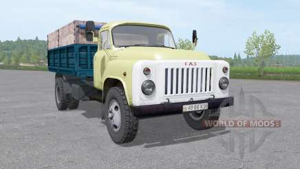 GAZ 53 truck v1.1 for Farming Simulator 2017