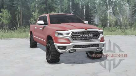 Dodge Ram 1500 2018 for MudRunner