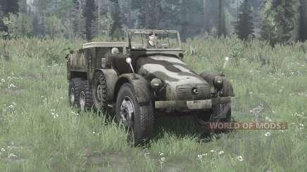 Krupp L 2 H 43 Kfz.70 v2.0 for MudRunner