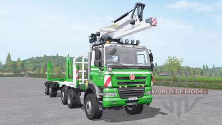 Tatra Phoenix T158 timber truck for Farming Simulator 2017
