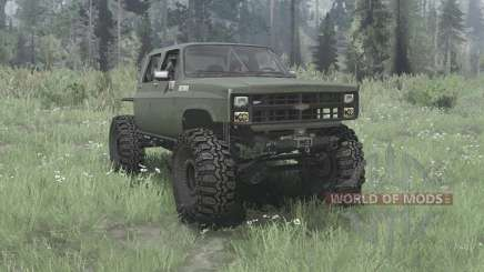 Chevrolet K30 1985 crawler for MudRunner