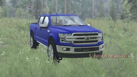 Ford F-150 Lariat SuperCrew 2017 for MudRunner