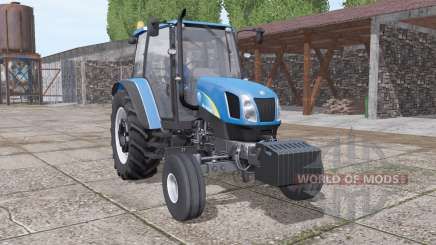 New Holland T5040 v1.1 for Farming Simulator 2017