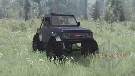 Suzuki Samurai 1990 crawler for MudRunner