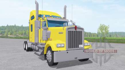 Kenworth W900 Sleeper Cab for Farming Simulator 2017