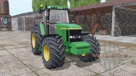 John Deere 7610 interactive control v2.0 for Farming Simulator 2017
