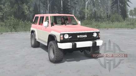 Nissan Patrol GR 5-door (Y60) 1987 for MudRunner