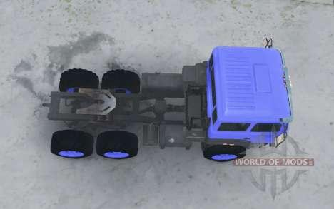 Ural 44202-3511-80 v3.0 for Spintires MudRunner