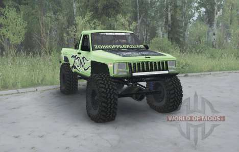 Jeep Comanche (MJ) 1984 lifted for Spintires MudRunner