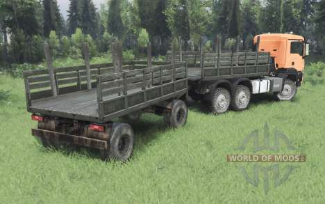 MAN TGS 26.480 2007 for Spin Tires