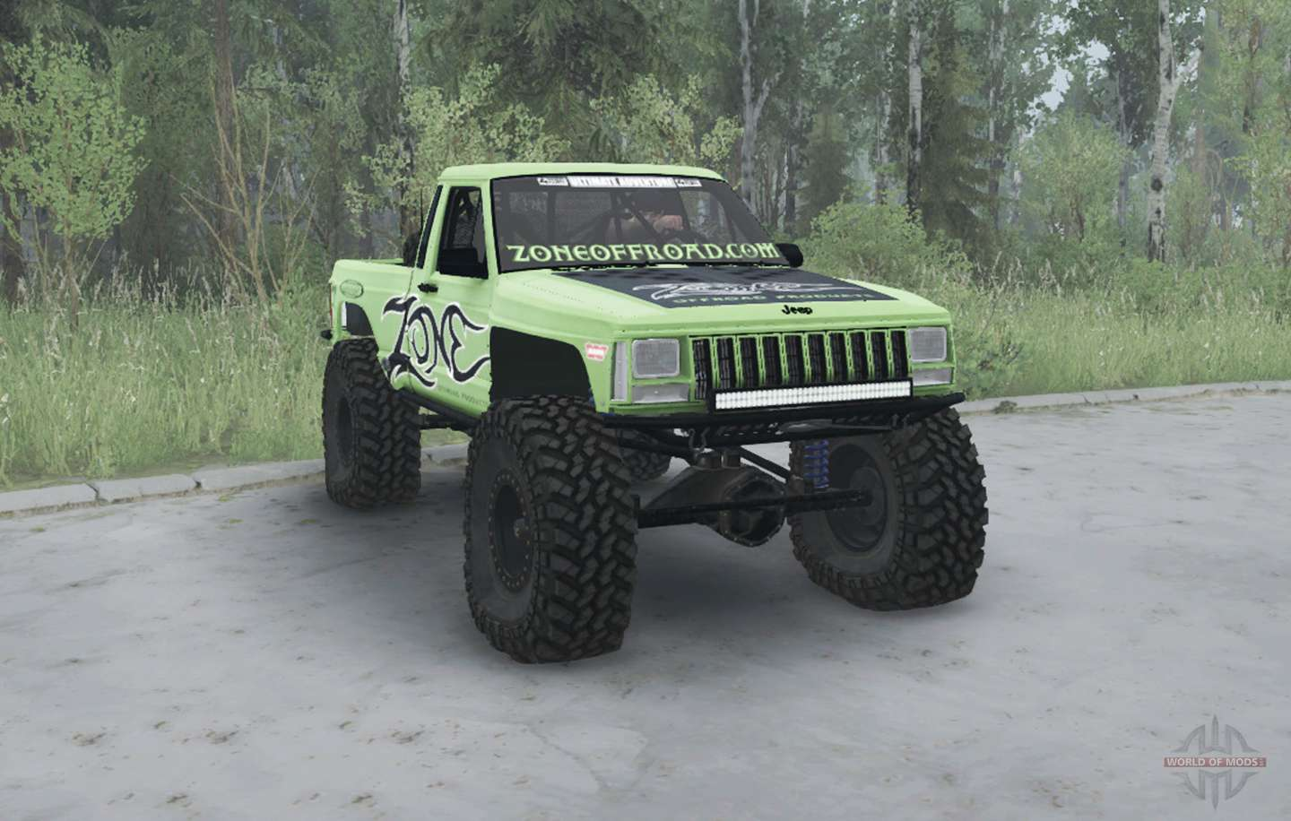Jeep Comanche Mj 1984 Lifted For Mudrunner