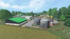 Churn Farm for Farming Simulator 2015