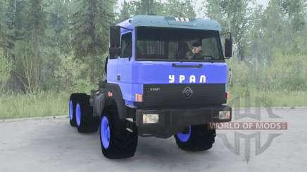 Ural 44202-3511-80 v3.0 for MudRunner